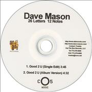 Click here for more info about 'Dave Mason - Good 2 U'