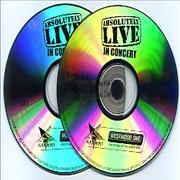 Dave Matthews Band Absolutely Live In Concert USA 2-CD album set