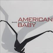 Dave Matthews Band American Baby USA CD single Promo