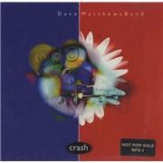 Dave Matthews Band Crash USA CD album Promo