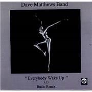 Dave Matthews Band Everybody Wake Up USA CD-R acetate Promo