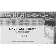 Dave Matthews Band Gravedigger USA video Promo
