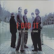 Click here for more info about 'Dave Matthews Band - I Did It'