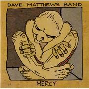 Dave Matthews Band Mercy UK CD-R acetate Promo