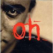 Dave Matthews Band Oh USA CD single Promo