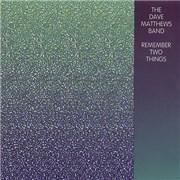 Dave Matthews Band Remember Two Things USA CD album