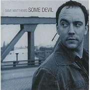 Dave Matthews Band Some Devil Japan CD album Promo