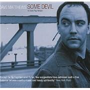 Dave Matthews Band Some Devil USA CD album Promo