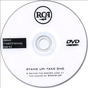 Dave Matthews Band Stand Up: Take One USA promo DVD-R Promo