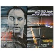 Dave Matthews Band The Central Park Concert USA display Promo