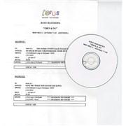 Dave Matthews Band Then & Nu Canada CD-R acetate Promo