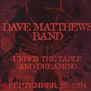 Dave Matthews Band Under The Table And Dreaming USA CD single Promo