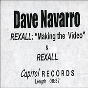 Click here for more info about 'Dave Navarro - Rexall - Making The Video'