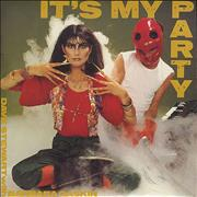 Click here for more info about 'Dave Stewart & Barbara Gaskin - It's My Party - P/s'