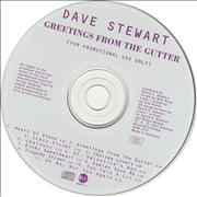 Click here for more info about 'David A. Stewart - Greetings From The Gutter'