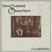 Dave Swarbrick Live At The White Bear UK vinyl LP
