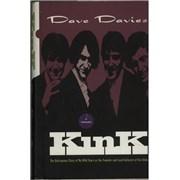 Dave Davies Kink: An Autobiography - Autographed UK book