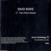 Click here for more info about 'David Bowie - 17-track Album Sampler'