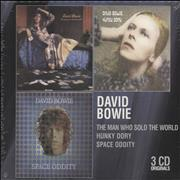 Click here for more info about 'David Bowie - 3 CD Originals - Sealed'