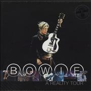 Click here for more info about 'David Bowie - A Reality Tour -  HQ-180 Blue Vinyl - Sealed'