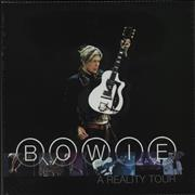 Click here for more info about 'David Bowie - A Reality Tour - 180gm Blue Vinyl - Sealed'