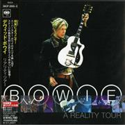 Click here for more info about 'David Bowie - A Reality Tour'