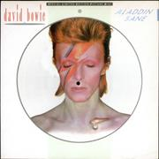 Click here for more info about 'David Bowie - Aladdin Sane + Certificate'
