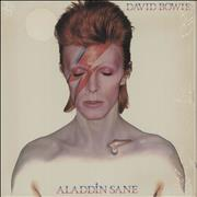 Click here for more info about 'David Bowie - Aladdin Sane + Fan Club Form - shrink'