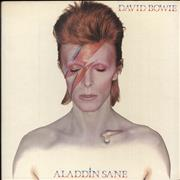 Click here for more info about 'David Bowie - Aladdin Sane - 1st + Fan Club Form - EX'