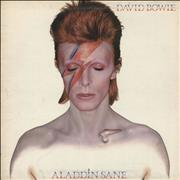 Click here for more info about 'David Bowie - Aladdin Sane - 1st + Fan Club Form - VG'