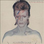 Click here for more info about 'David Bowie - Aladdin Sane - 1st + clipped insert'