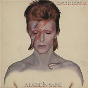 David Bowie Aladdin Sane - 1st - EX UK vinyl LP