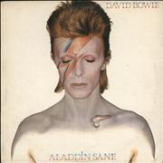 Click here for more info about 'David Bowie - Aladdin Sane - 2nd + insert - VG'