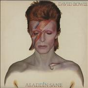 Click here for more info about 'David Bowie - Aladdin Sane - 2nd + insert - EX'