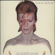 Click here for more info about 'David Bowie - Aladdin Sane - Dynaflex - EX'