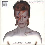 Click here for more info about 'David Bowie - Aladdin Sane - Silver Vinyl - Sealed'