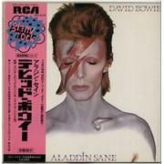 Click here for more info about 'David Bowie - Aladdin Sane - White Label + Obi'