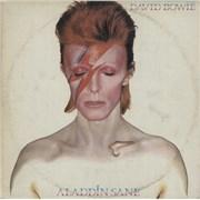 David Bowie Aladdin Sane Greece vinyl LP