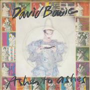 Click here for more info about 'David Bowie - Ashes To Ashes - P/S B + Stamps'