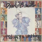 Click here for more info about 'David Bowie - Ashes To Ashes - P/S A'
