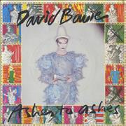 Click here for more info about 'David Bowie - Ashes To Ashes - P/S C + Stamps'