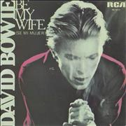 Click here for more info about 'David Bowie - Be My Wife - EX'