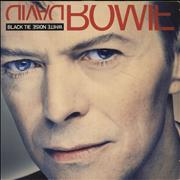 Click here for more info about 'David Bowie - Black Tie White Noise - EX'