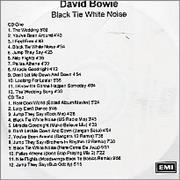 Click here for more info about 'David Bowie - Black Tie White Noise'