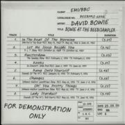 Click here for more info about 'David Bowie - Bowie At The Beeb - Sampler / Box'