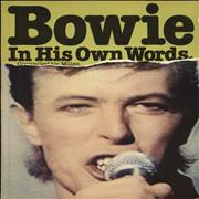 Click here for more info about 'David Bowie - Bowie In His Own Words'