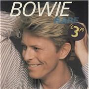 David Bowie Bowie Rare - EX UK vinyl LP