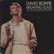 Click here for more info about 'David Bowie - Breaking Glass - P/S'