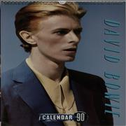 Click here for more info about 'David Bowie - Calendar 1990'