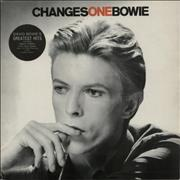 Click here for more info about 'David Bowie - Changesonebowie - 2nd + Stickered sleeve'